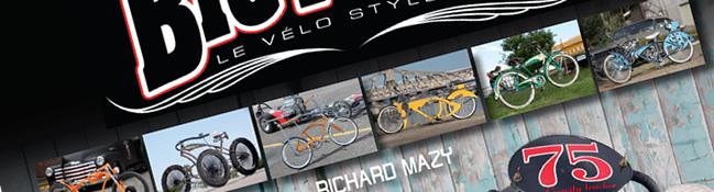 Sortie du livre Cruisin'Bicycles, le vélo style U.S