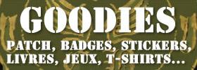 Custom Brigade vous propose toutes sortes de goodies, jeux flash, fond d'ecran, video, logo pour portable, sonneries, stickers, t-shirt, livres pour vélos custom