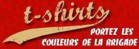 T-shirts Custom Brigade avec motif de vélos Beach Cruisers, Lowrider, Chopper et autres Custom Bikes